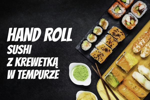 LuckyFish.pl - HAND ROLL SUSHI Z KREWETKĄ
